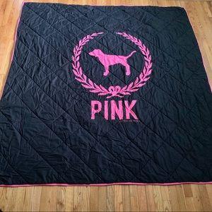Victoria's Secret Pink Reversible F/Q Comforter